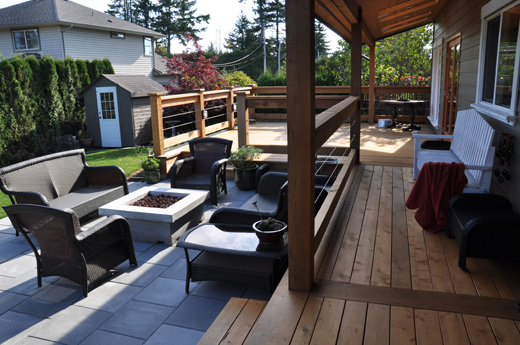 Griffith Homes can renovate or build your dream outdoor space from scratch.