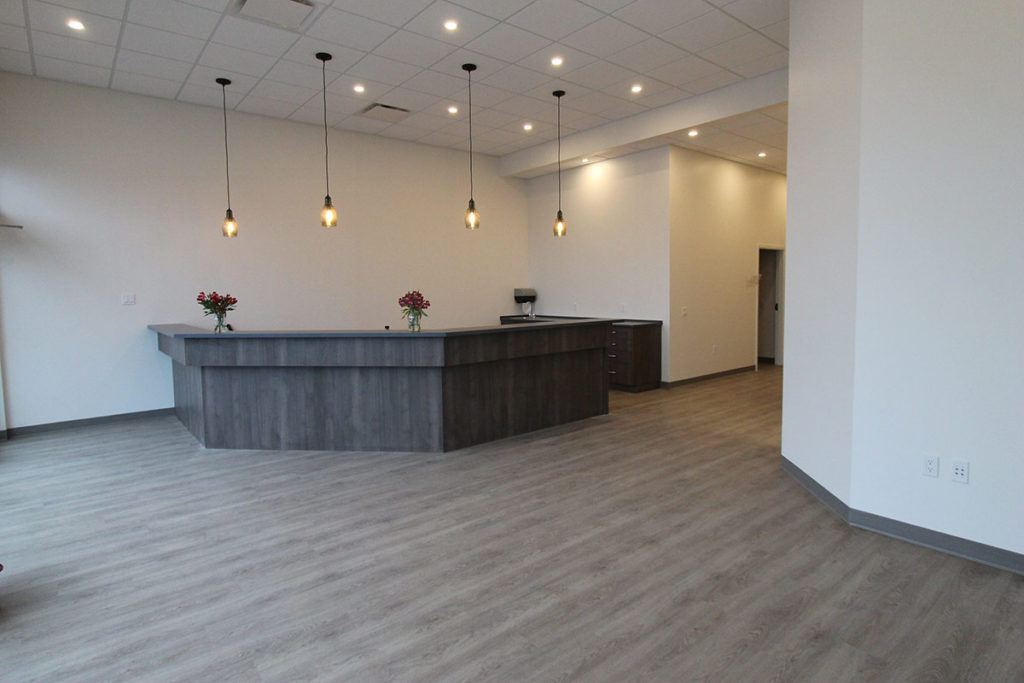 Griffith Homes does commercial tenant improvements. We can renovate your commercial interior space.